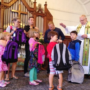 Blessing backpacks