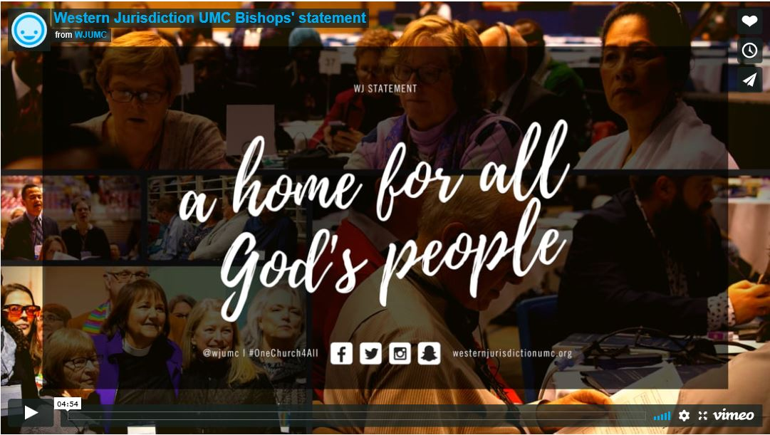 Western Jurisdiction UMC - A Home for All