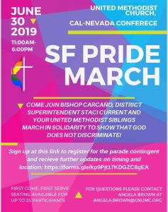 SF Pride March 2019
